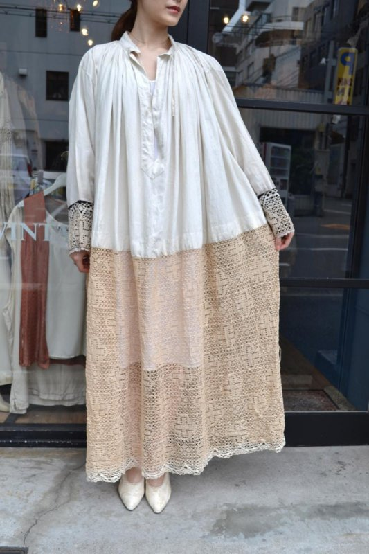 1900's France antique church costume dress