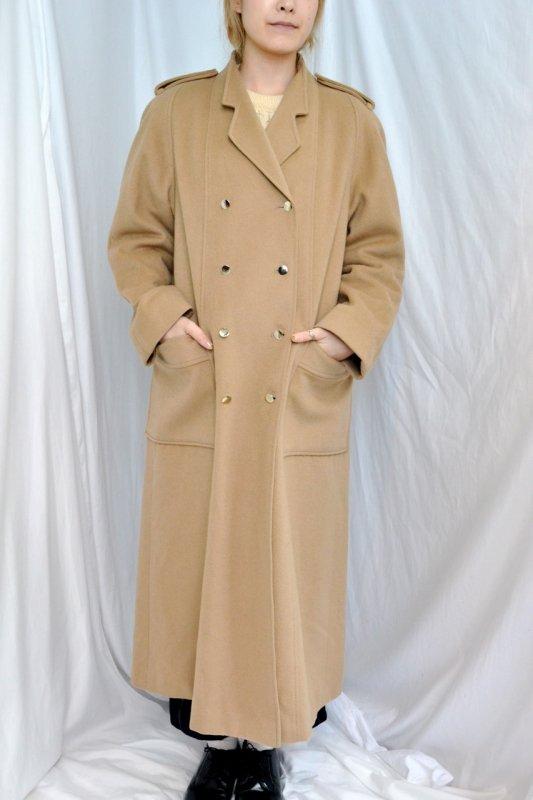 1980~90's vintage Aquascutum beige long coat