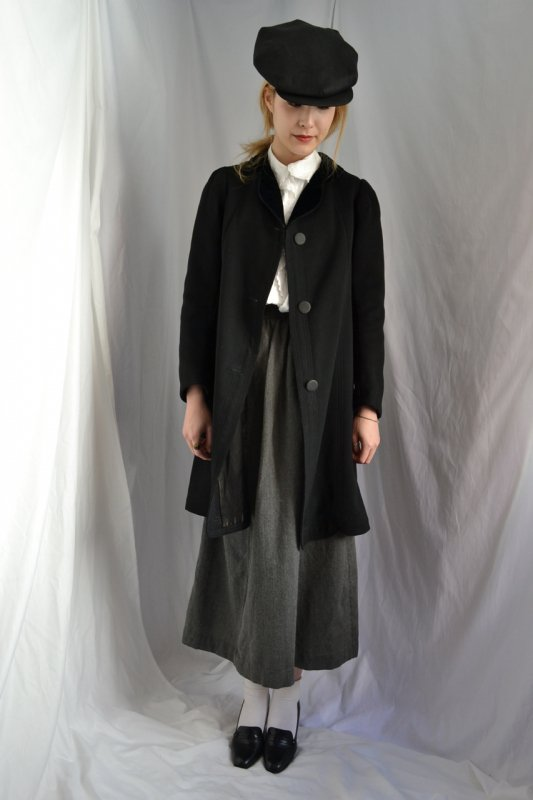 1900's France antique wool coat