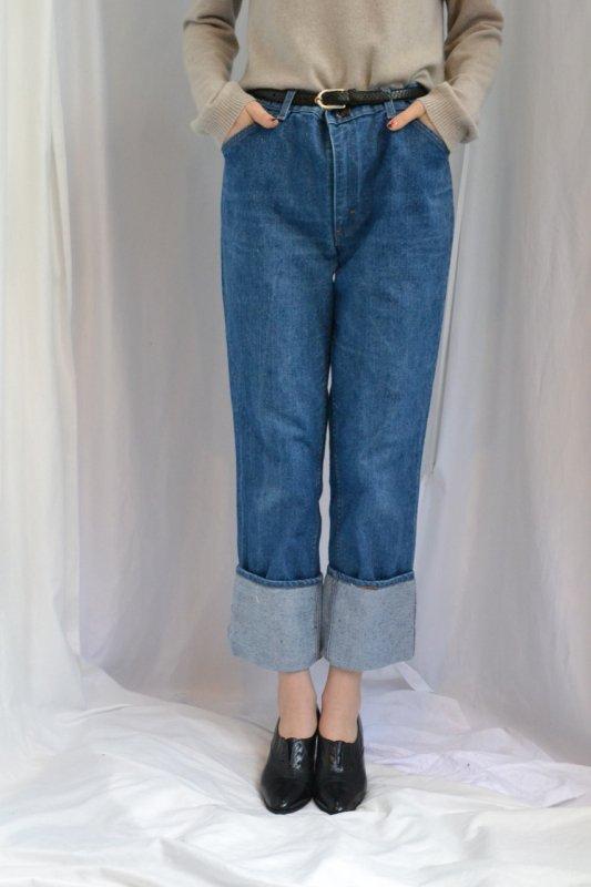 <img class='new_mark_img1' src='http://lara-vintage.shop-pro.jp/img/new/icons8.gif' style='border:none;display:inline;margin:0px;padding:0px;width:auto;' />Vintage simple denim pants