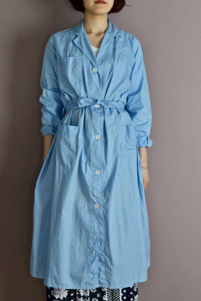 1950-60's France vintage cotton work coat