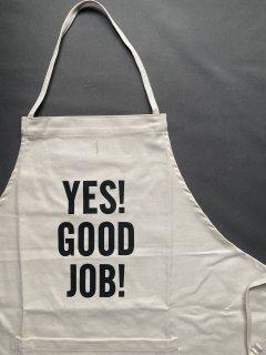 DRESSSENエプロン<br> TYPE:#21<br> YES!GOOD JOB!