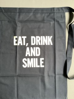 DRESSSENエプロン<br> TYPE: LWL NY3<br> EAT,DRINK AND SMILE<br>腰巻用