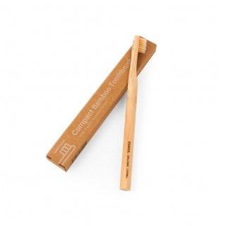 mana.バンブー歯ブラシ コンパクト<br>(竹歯ブラシ 小さめ)<br> 100%オーガニックバンブー