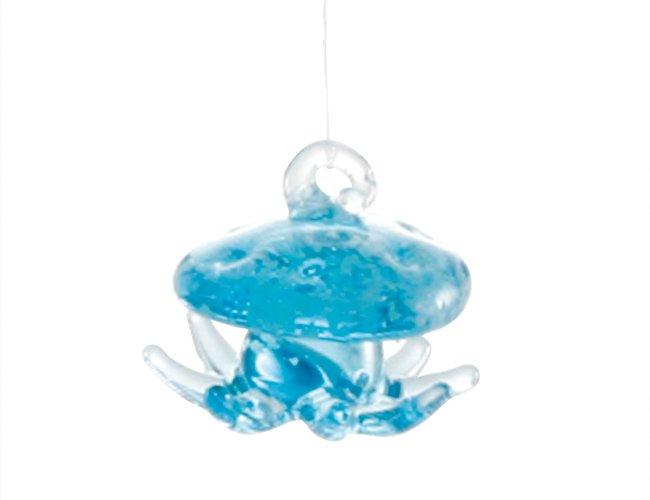 光る浮玉 クラゲ・ブルー