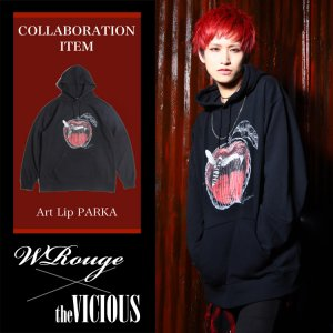 <img class='new_mark_img1' src='//img.shop-pro.jp/img/new/icons1.gif' style='border:none;display:inline;margin:0px;padding:0px;width:auto;' />''WRouge×the VICIOUS'' COLLABORATION PARKA
