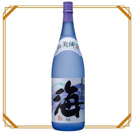 海 25度 1800ml 【大海酒造】