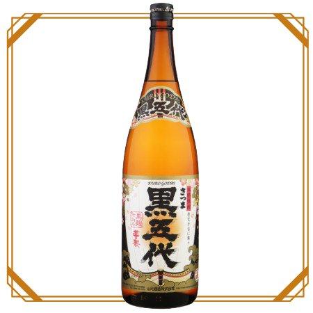 さつま黒五代 1800ml 【山元酒造】
