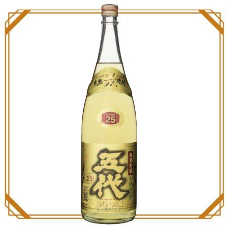 五代 麦長期貯蔵酒 1800ml 【山元酒造】