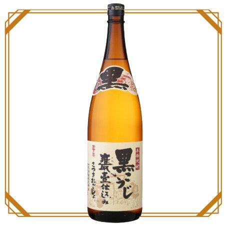 黒カメ さつまおごじょ 1800ml 【山元酒造】