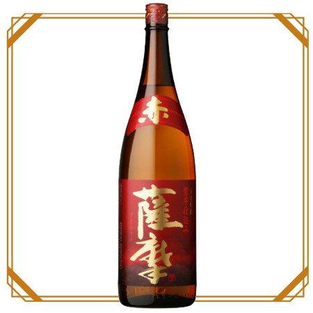 薩摩焼酎 赤薩摩 1800ml 【薩摩酒造】