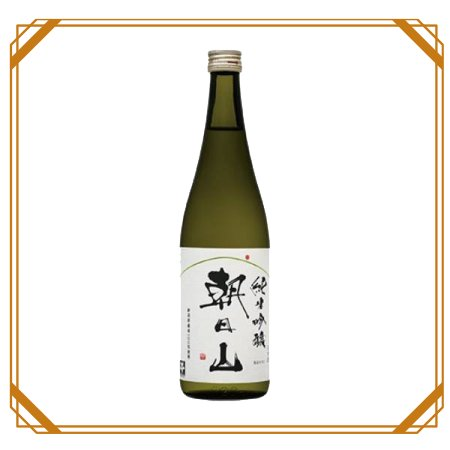 朝日山 純米吟醸 720ml  【朝日酒造】
