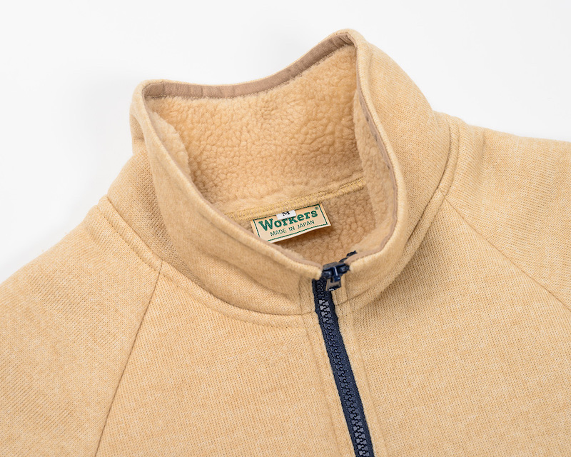 Workers(K&T H MFG Co.) Sliver Fleece Jacket