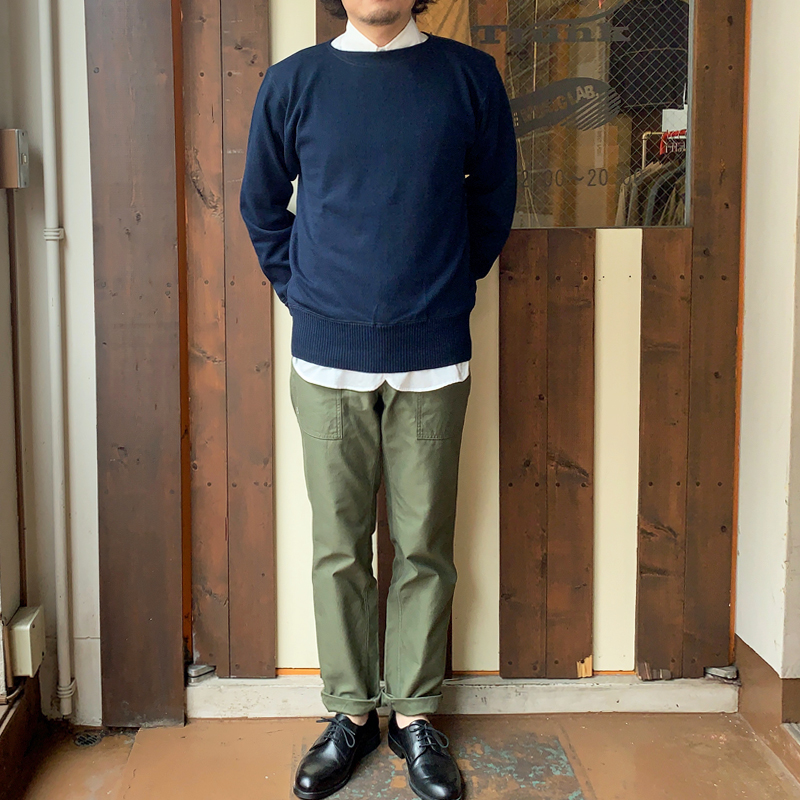 Workers(K&T H MFG Co.) Boatneck Sweater