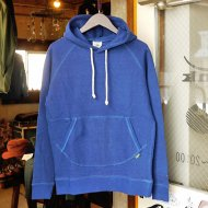 【LADY'S】GO HEMP<br/>PULL PARKA (BLUE)