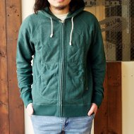 GO HEMP<br/>ZIP UP PARKA (GREEN)