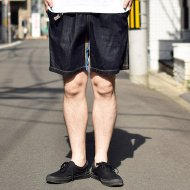 ALDIES<br/>Old Aging Short Pants(Navy)
