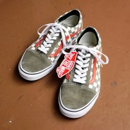 Vans<br/>Old Skool(Golden Coast)CvrtGrn/Chk
