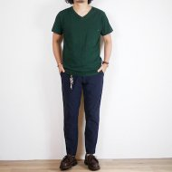 ANACHRONORM<br/>V NECK POCKET T-SHIRT (GREEN)
