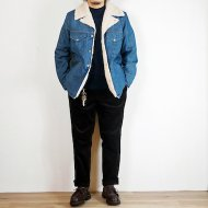 ANACHRONORM<br/>DENIM BOA RANCH COAT(Indigo)