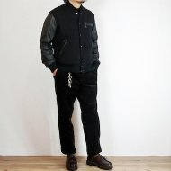 GO WEST<br/>TEAM JACKET/WOOL MELTON(BLACK)