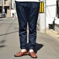 BARNSTORMER<br/>2 TUCK CHINO PANTS(NAVY)