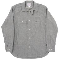 Workers(K&T H MFG Co.)<br/>Champion Shirt, 5.5 oz Gray Chambray
