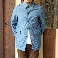 FOB FACTORY<br/>CHAMBRAY RAILROAD JACKET