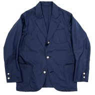 Workers(K&T H MFG Co.)<br/> Blazer, Wool Mohair Tropical, Navy Blue