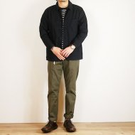 FOB FACTORY<br/>FRENCH SHIRT JACKET(Navy)