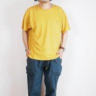 GOHEMP<br/>WIDE PK TEE / H/OC JERSEY (SUNSET GOLD)