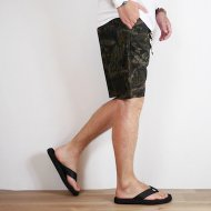 FOB FACTORY<br/>Leaf camo work shorts(Dark camo)
