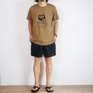 BIG MIKE<br/>BURGER TEE(Camel)