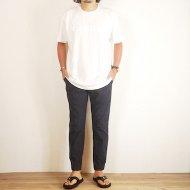 TRUNKロゴTシャツ(White×White)