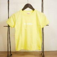 TRUNKロゴキッズTシャツ(Yellow×White)