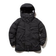 NANGA<br/>MOUNTAIN BELAY COAT / マウンテンビレーコート(BLACK)