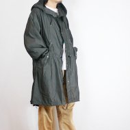 "【デッドストック】VINTAGE 80s US ARMY""SNOW PARKA WITH POCKET(スノーパーカ)""COTTON 100% BLACK OVER-DYE"