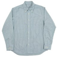 Workers(K&T H MFG Co.)<br/> Modified BD, Green Stripe Supima OX
