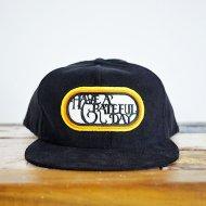 HAVE A GRATEFUL DAY<br/>GRATEFUL DAY CORDUROY CAP -SF LOGO(BLACK)