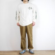 GOHEMP<br/>GROW/LONG SLEEVE TEE (NATURAL)