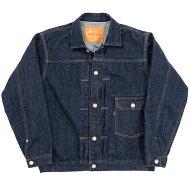 Workers(K&T H MFG Co.)<br/> Denim Jacket, 13.75 Oz, Right Hand Indigo Denim, American Cotton 100%
