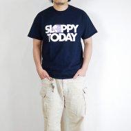 SLOPPY/スラッピー<br/>SLOPPY TODAY プリントTee(NAVY)