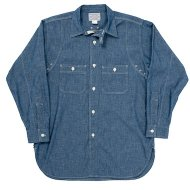 Workers(K&T H MFG Co.)<br/> MFG Shirt, Blue Chambray