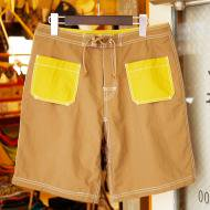 TRIPS<br/>DECK shorts (BROWN × MASTARD)
