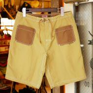 TRIPS<br/>DECK shorts (BEIGE × BROWN)