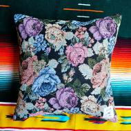 LIF<br/>GBL CUSHION(NAVY FLOWER)