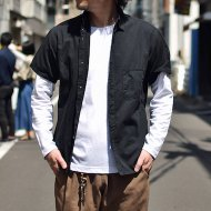 ANACHRONORM<br/>COLOR S/S SHIRT(BLACK)