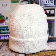 ANACHRONORM<br/>BEAT INITIALKNITCAP by DECHO [ WHITE / WHITE WAPPEN