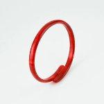 山羊革 コインケース ボタニカルポップ柄/緑【第3世界ショップ】