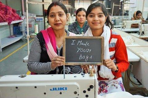 縫製工場のみなさん